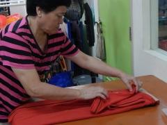 Tee shirts folded with love